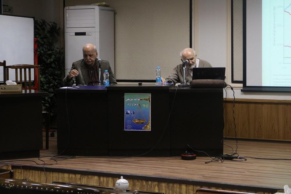 عدالت توزیعی و بازار آزاد با حضور احمد توکلی و حسن عبده تبریزی
